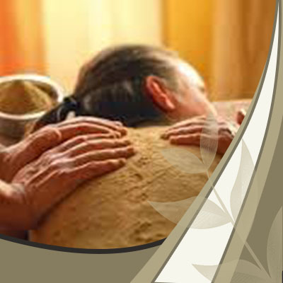 Herbal Powder Massage